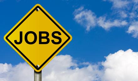 A Jobs Sign