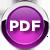 Round PDF Button